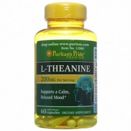 L-Theanine 100 mg Puritan's...