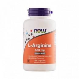 L-Arginine 500 mg NOW 100 капс