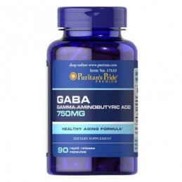 GABA 750 mg Puritan's Pride...