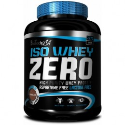 Iso Whey Zero lactose free 2.2 кг