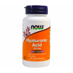 Hyaluronic Acid 50 mg NOW...