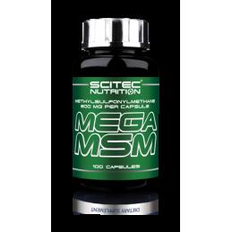 Mega MSM 100 капс (33 порц.)
