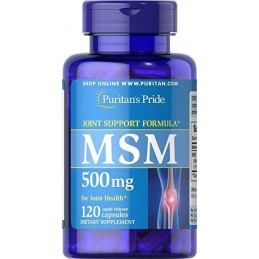 MSM 500 mg Puritan's Pride...